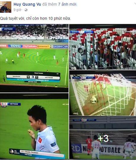Ngap tran loi chuc mung U19 Viet Nam tham du VCK U20 the gioi - Anh 1