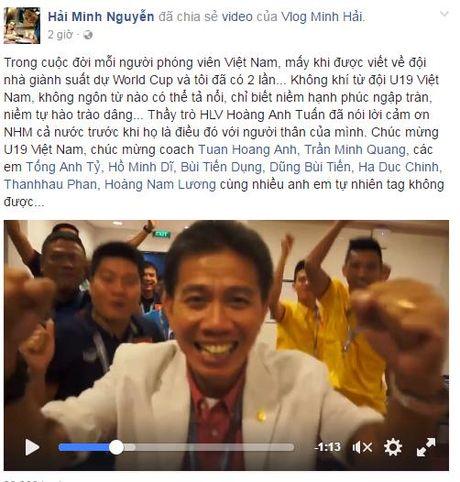 Ngap tran loi chuc mung U19 Viet Nam tham du VCK U20 the gioi - Anh 2