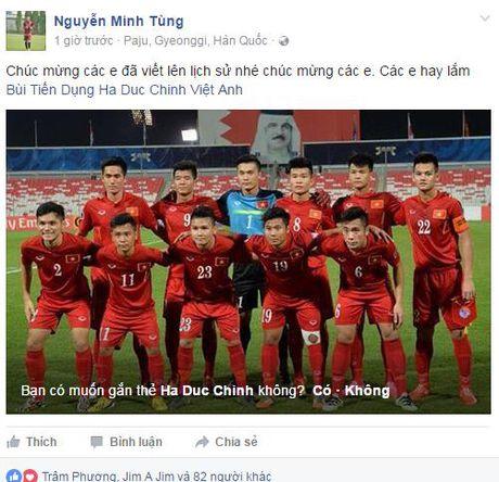 Ngap tran loi chuc mung U19 Viet Nam tham du VCK U20 the gioi - Anh 6
