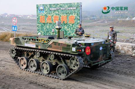 Kinh ngac dan robot chien dau-van tai cua sinh vien Trung Quoc - Anh 4