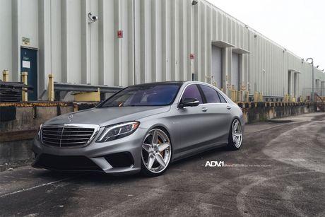Mercedes-AMG S63 'sieu dang cap' voi mam do ADV.1 - Anh 2
