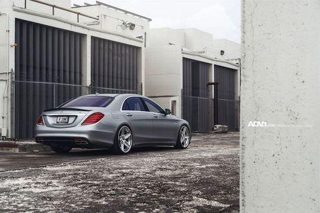 Mercedes-AMG S63 'sieu dang cap' voi mam do ADV.1 - Anh 4