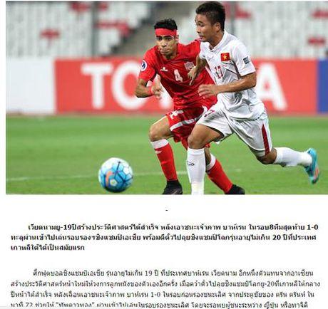 Bao Thai 'suong' truoc ki tich cua U19 Viet Nam - Anh 1
