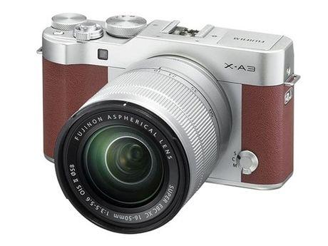 Fujifilm sap ra mat may anh mirrorless X-A10 - Anh 1