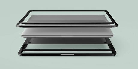 Lift & Go: vo bao ve + quai xach + de nang cho MacBook Pro - Anh 2