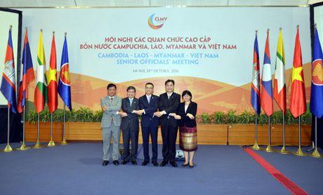 Hoi nghi cac quan chuc cao cap 4 nuoc Campuchia-Lao-Myanma-Viet Nam lan thu 8 - Anh 1