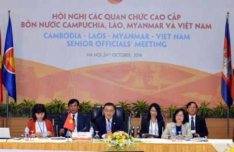 Hoi nghi cac quan chuc cao cap 4 nuoc Campuchia-Lao-Myanma-Viet Nam lan thu 8 - Anh 2
