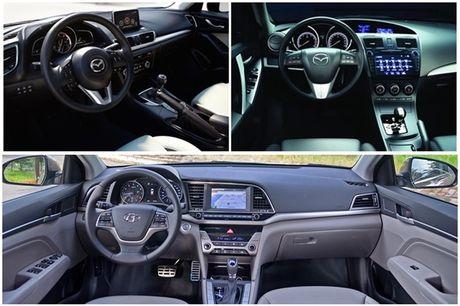 So sanh Huyndai Elantra va Mazda3: Chon xe Han hay xe Nhat? - Anh 4