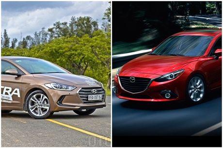 So sanh Huyndai Elantra va Mazda3: Chon xe Han hay xe Nhat? - Anh 5