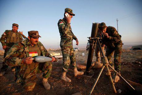 Quan nguoi Kurd tai Iraq kiem soat hang loat khu vuc quanh Mosul - Anh 1