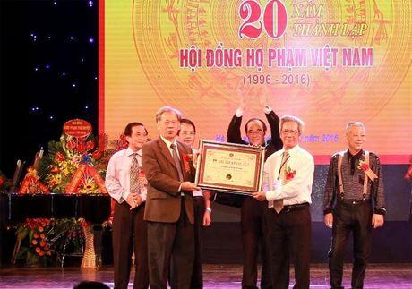 Ky niem 20 nam thanh lap Hoi dong ho Pham Viet Nam - Anh 2