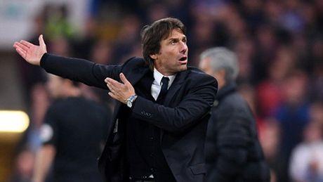 HLV Conte 'no' tung bung sau tran dai thang M.U - Anh 1