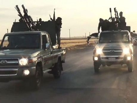 Syria: IS nhan hang nghin xe ban tai Toyota tu cac cac quoc gia A Rap - Anh 1