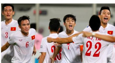 U.19 VN chien thang ky tich du U.20 World Cup, FIFA, AFC chuc mung - Anh 1