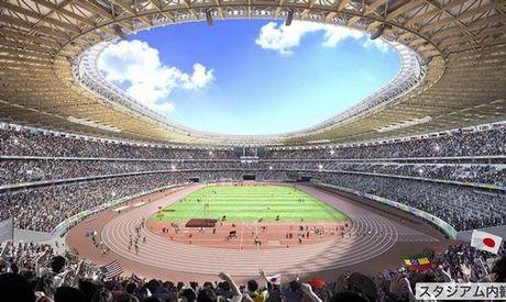 San van dong Olympic Tokyo 2020 - thiet ke cua tuong lai - Anh 1