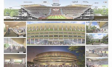 San van dong Olympic Tokyo 2020 - thiet ke cua tuong lai - Anh 5