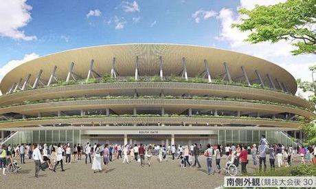 San van dong Olympic Tokyo 2020 - thiet ke cua tuong lai - Anh 6