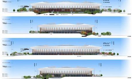 San van dong Olympic Tokyo 2020 - thiet ke cua tuong lai - Anh 7
