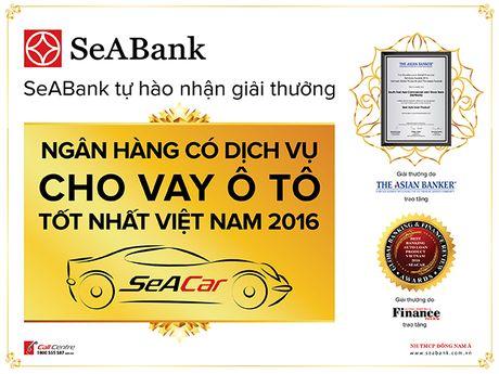 SeABank tham gia Trien lam Oto quoc te Viet Nam 2016 - Anh 1