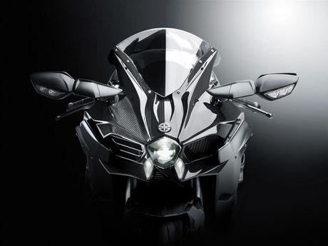 Sieu pham Kawasaki Ninja H2, Ninja H2 Carbon va Ninja H2R 2017 ra mat - Anh 4