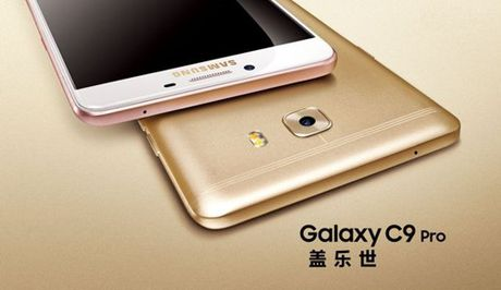 Samsung Galaxy C9 Pro: Pin khung, RAM 6GB - Anh 5