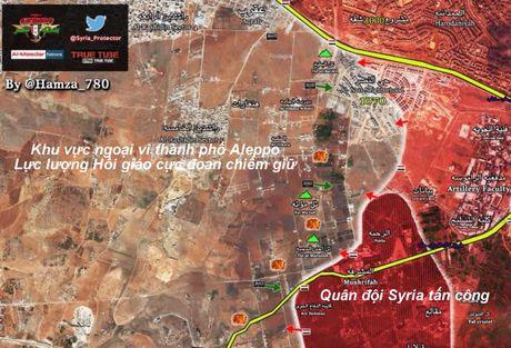 Quan doi Syria, Hezbollah tan cong nam Aleppo - Anh 1