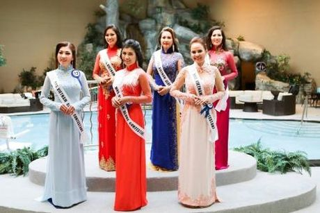 Janny Thuy Tran dang quang Hoa hau Phu nhan Viet Nam Hoan cau 2016 - Anh 5