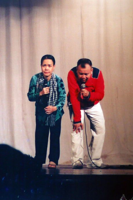 Viet Huong tiet lo anh chup cung Minh Nhi, Hoai Linh gan 20 nam truoc - Anh 9