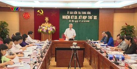 UB Kiem tra TU de nghi canh cao nguyen Bo truong Vu Huy Hoang - Anh 1