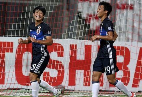 U19 Viet Nam gap Nhat Ban o ban ket giai U19 chau A - Anh 1