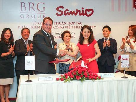 BRG va Sanrio Hong Kong hop tac phat trien cong vien giai tri tai Viet Nam - Anh 1