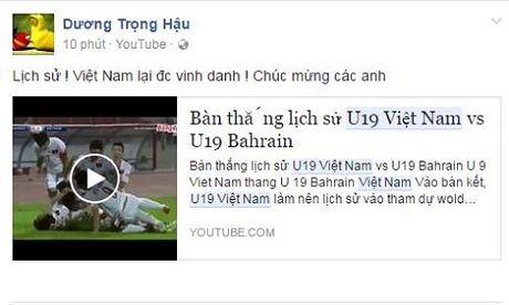 Cong dong mang day song khi U19 Viet Nam gianh ve du World Cup - Anh 3