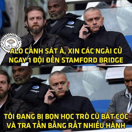 Biem hoa 24h: Mourinho 'tai mat' roi Stamford Bridge - Anh 2