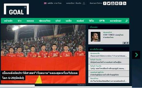 Bao Thai Lan 'nga mu' truoc chien tich vao World Cup cua U19 Viet Nam - Anh 3