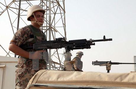 Jordan ap dat tinh trang khan cap tai khu vuc bien gioi voi Iraq - Anh 1