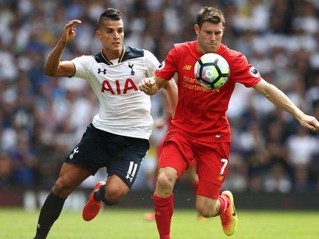 Lich truc tiep: Liverpool - Tottenham, Milan quyet len ngoi dau - Anh 1