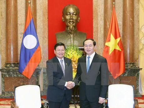 Tiep tuc tang cuong hop tac Viet-Lao tren nhieu linh vuc - Anh 1