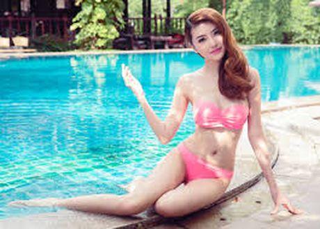Anh bikini dep boc lua cua Ngoc Duyen nu hoang sac dep toan cau - Anh 6
