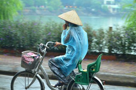 HN: Nuoc ho Van Quan doi mau xanh biec, hoi thoi nong nac - Anh 10