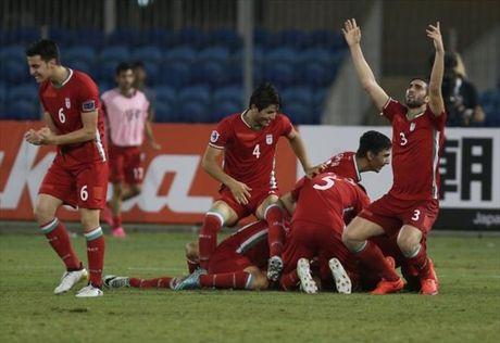 Xac dinh cac cap dau vong ban ket giai U19 chau A 2016 - Anh 1