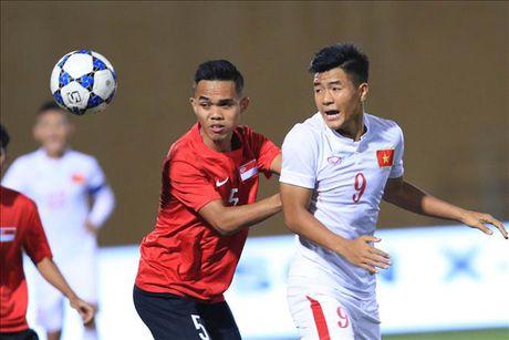 U19 Viet Nam mat Duc Chinh o tran ban ket voi Nhat Ban - Anh 1