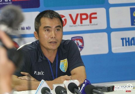 HLV Pham Minh Duc: 'U21 Ha Noi T&T chua phai doi bong manh nhat' - Anh 1