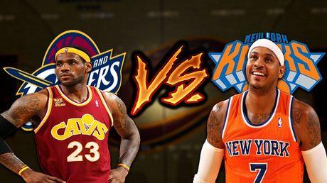 VTVcab truc tiep tran khai mac NBA giua Cleveland Cavaliers - New York Knicks - Anh 2