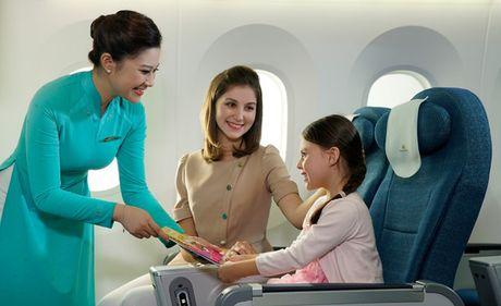 Vietnam Airlines dan dau Chau A ve dich vu hang Pho thong - Anh 1