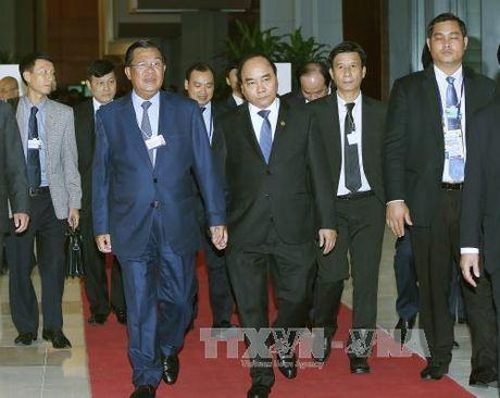 Thu tuong Nguyen Xuan Phuc tham du WEF ve khu vuc Mekong 2016 - Anh 1
