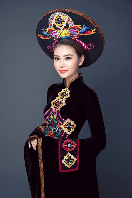 Ngoc Duyen dang quang Nu hoang sac dep Toan cau 2016 - Anh 7