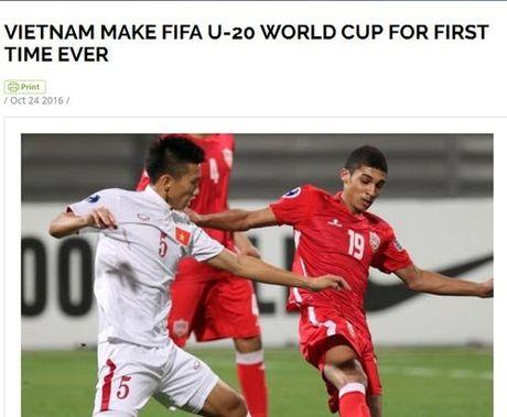 FIFA chuc mung, bao the gioi khen ky tich World Cup cua U19 VN - Anh 1