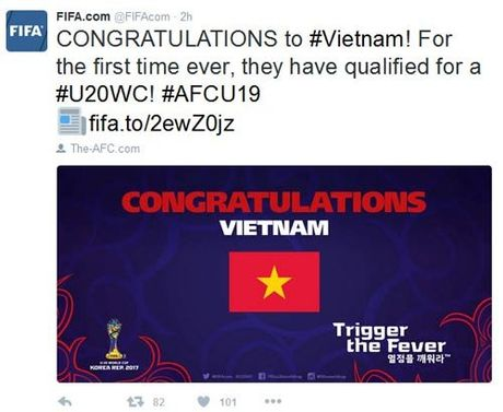FIFA chuc mung, bao the gioi khen ky tich World Cup cua U19 VN - Anh 3