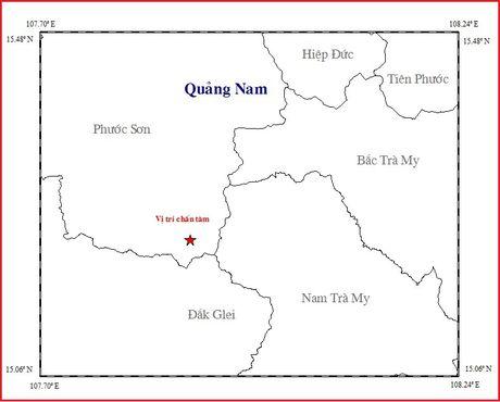Quang Nam lan thu 3 hung chiu dong dat trong Thang 10 - Anh 1