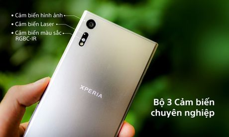 Xperia XZ – chien binh manh me cua Sony - Anh 2
